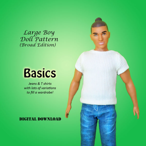Broad Basics: Jeans & T-Shirt