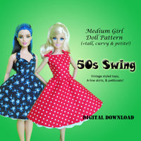 Vintage 50s Swing & Rockabilly Dresses