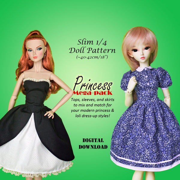 Princess Dress Mega Pack