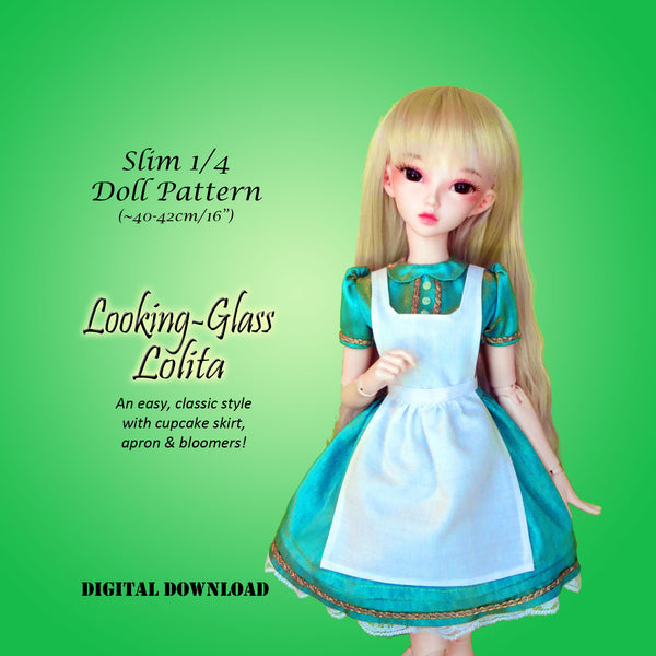Looking Glass Lolita Dress & Pinafore