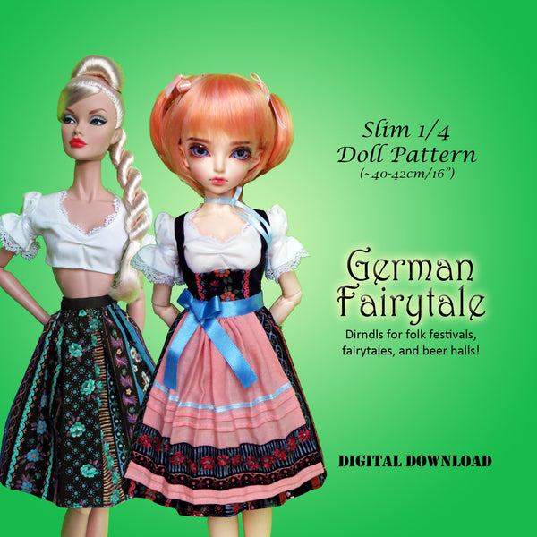 German Fairytale: Folk Dirndl