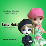 Easy Hats: Newsie cap & Beret