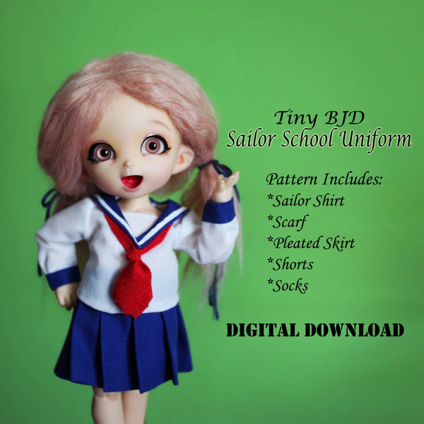 Japanese Sailor School Uniforms for Boys & Girls