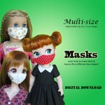 Free Pattern!  Face Masks