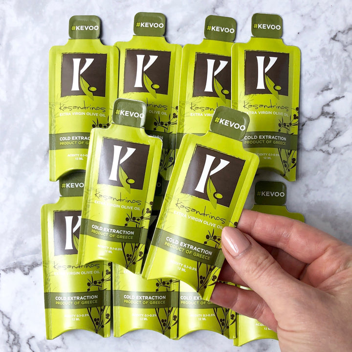 Add Kassandrinos Extra Virgin Olive Oil Packets to any Balanced Bites Meals order. Perfect for adding extra healthy fat to your Balanced Bites Meal or using for travel, salads, and more anytime.