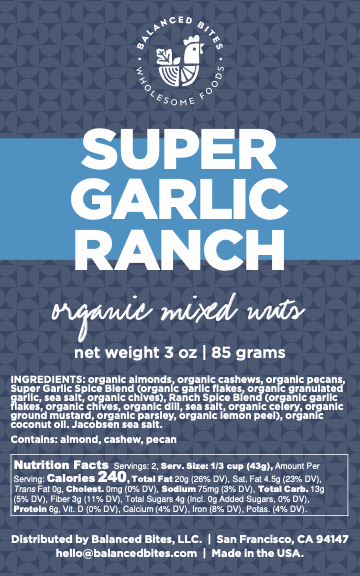 Super Garlic Ranch Seasoned Nut Mix 3-Pack (add-on)