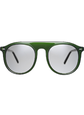 Stelvio Sunglasses - Bottle Green with Grey