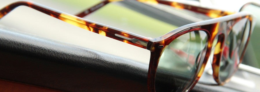 Stelvio Sunglasses - Tortoise with Vintage Green