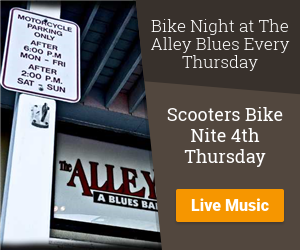 Scooter's Performance Bike Night at the Alley Every Thursday Night