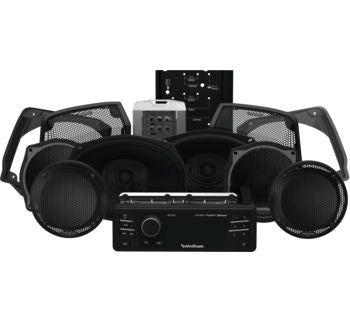 Rockford Fosgate 1998-2013 Harley-Davidson® Electra Glide® Ultra Source Unit & 6 Speaker Kit Stage 3