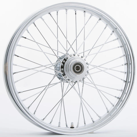 "Front 40 Spoke Wheel Dual-single Disc 21""x2.15"""