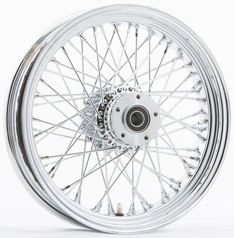 "Front 60 Spoke Wheel Dual Disc 16""x3.5"""