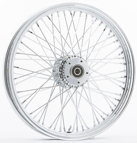 "Front 60 Spoke Wheel Dual-single Disc 19""x2.15"""