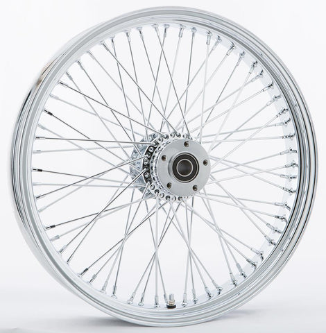 "Front 60 Spoke Wheel Dual Disc 21""x3.5"""