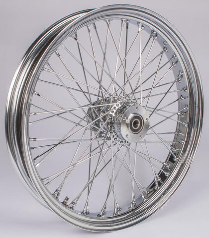 "Front 60 Spoke Wheel Dual Disc 23""x3.5"""