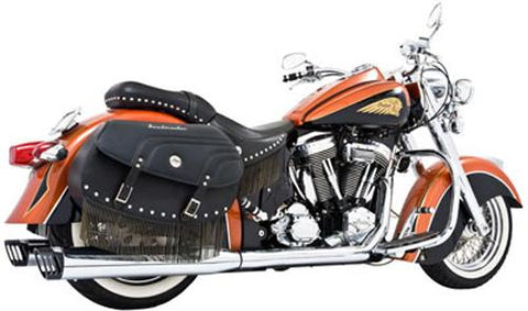 "DUALS 2.5"" M-16 CHR/ BLK INDIAN CHIEF"
