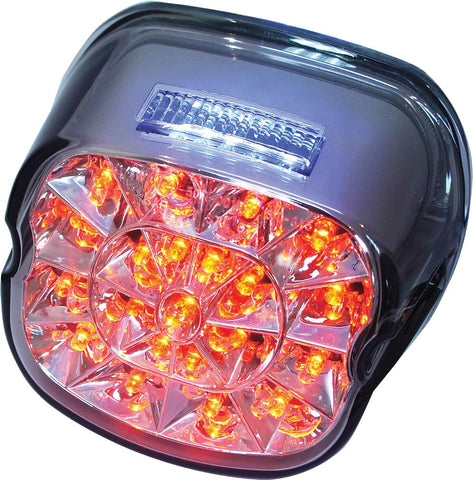 Laydown Led Taillight Smoked Lens