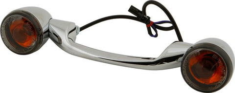 Light Bar Chrome W-smoke Lenses