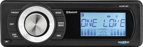 Bluetooth & Mp3 Media Player W- Am-fm Radio