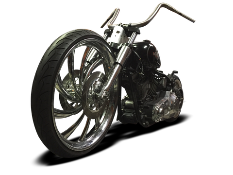 "American Suspension Bolt On Neck / Trees to fit 26"" Wheel on a 08-up Harley Softail B26ST/08"