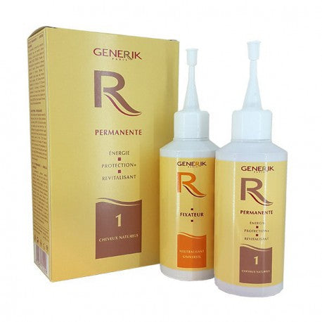 Kit permanente n ° 1 dosis única 120ml + 120ml