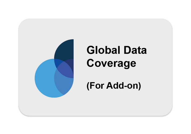 Global Data Coverage Plan (For Add-on)