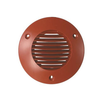 Airflow 150mm External wall Grilles in Terracotta