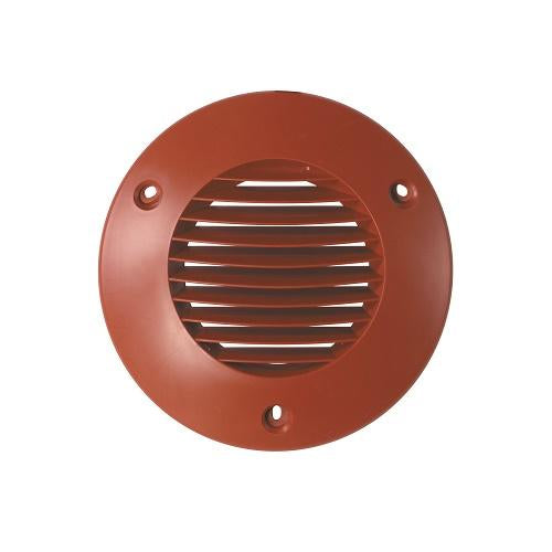 Airflow 100mm External wall Grilles in Terracotta