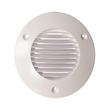 Airflow 100mm External wall Grilles in White