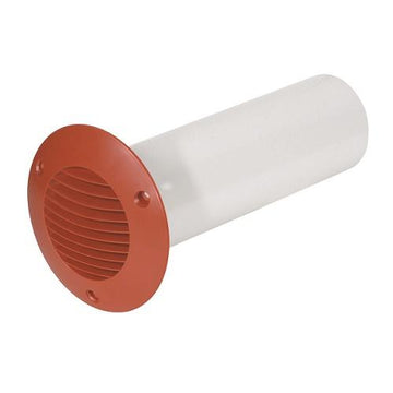 "100mm-4"" Rigid Duct Cavity Wall Kit - 350mm Length Terracotta"