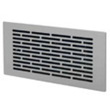 Airflex Pro Brushed Stainless Steel Slotted Grille