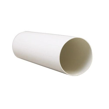 "100mm-4"" Rigid Round Duct -  350mm Length"