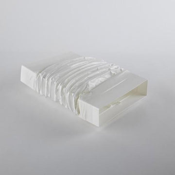 Elica Nikola Tesla Rectangular Flexible Ducting -  1000mm Long 218 x 55mm