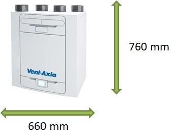 Vent Axia  Kinetic Advance G3 2pack