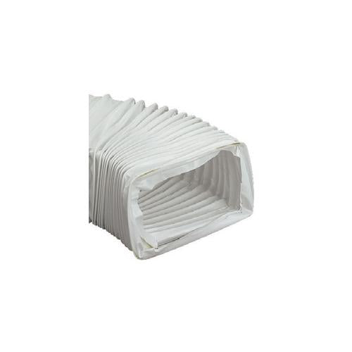 Flexiduct 204 x 60mm, PVC, 3m pipe