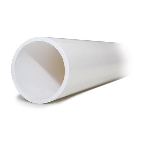 "White Pipe 2.9m lengths - 11-4"" (33.6mm OD, 25mm ID"