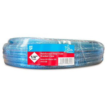 "Vinyl Tube Braided 1-4"" x 30m"