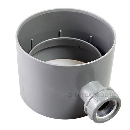 "100mm-4"" Condensate Trap with Overflow"