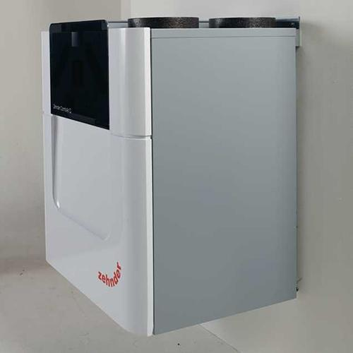 Zehnder ComfoAir Q450 with pre-heater, right handed