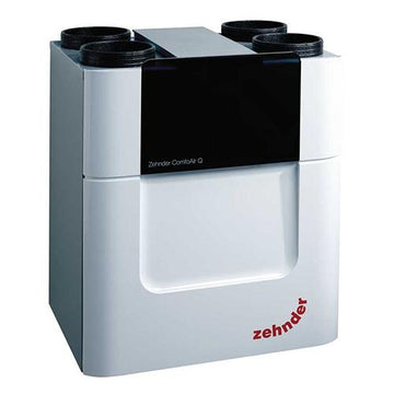 Zehnder ComfoAir Q450 with pre-heater, left handed