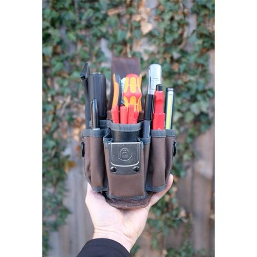 Veto MP1 Compact Fabric And Leather Tool Pouch
