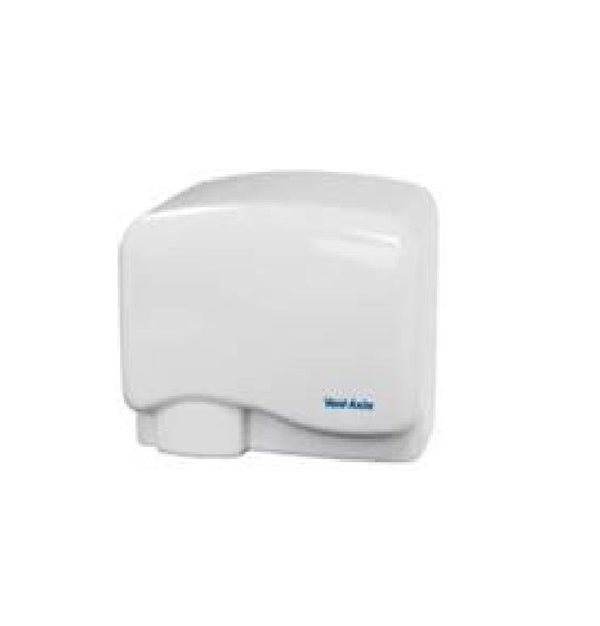 1.5kW Easy Dry ABS White Hand Dryer