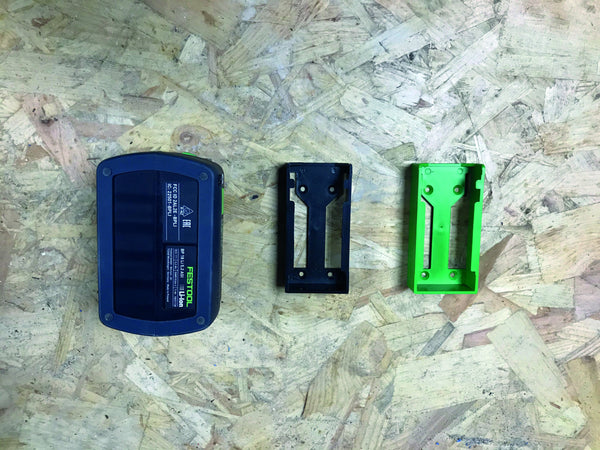 StealthMounts Black Battery Mounts for Festool 18v