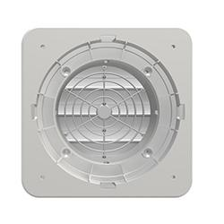 Greenwood Samika LE100 Low Voltage Window Fan with Discreet Cover, Humidistat & Timer - 1B-LE100SVHT-EWLE100