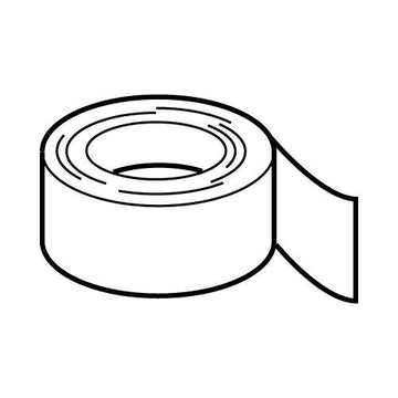 Adhesive sealing tape -  50mm x 4.6m
