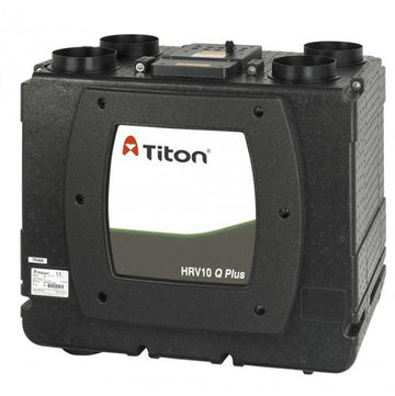 Titon HRV10.25 Q Plus Eco, Summer Bypass, Intelligent Humidity (Auralite)