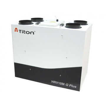 Titon HRV10.25M Q Plus Eco, Summer Bypass, Intelligent Humidity
