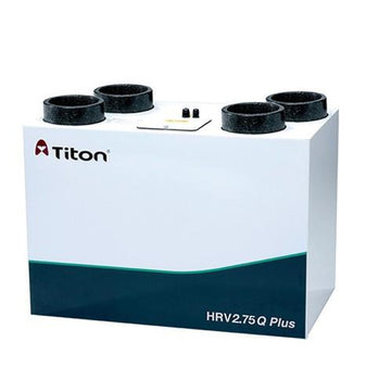 Titon HRV2.85 Q Plus Eco, Summer Bypass, Intelligent Humidity