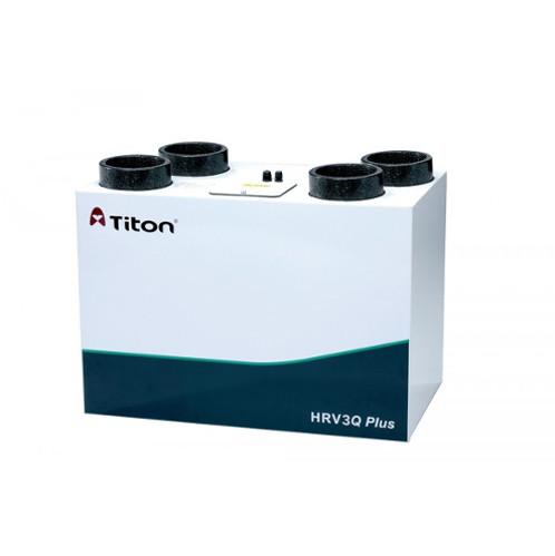 Titon HRV3 Q Plus Eco, Summer Bypass, Intelligent Humidity