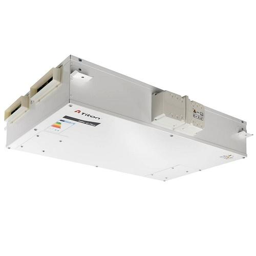 Titon H200 Q Plus Eco, 204mm x 60mm Ports, Summer Bypass, Intelligent Humidity